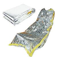 CF830 Reusable Emergency Waterproof Survival Silver Foil Camping Sleeping Bag