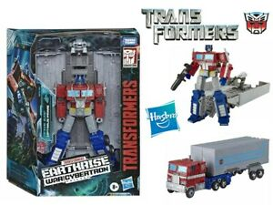 Transformers Earthrise War for Cybertron Leader Class Optimus Prime WFC-E11 Toy