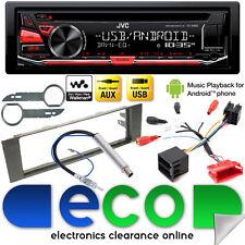 AUDI a4 00-05 b6 JVC CD mp3 USB AUX FULL STEREO AUTO SISTEMA BOSE Kit di aggiornamento