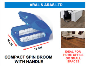 ✅ 1 x Small Compact *Spin Broom* - Ideal for Home and Office use. PRACTICAL ✅
