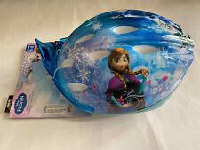 Disney Frozen 3D Tiara Casco Bicicleta Edad 5-8 Bell True Para Cabeza Protección