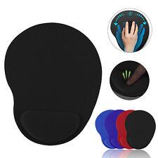 Mouse Pad Mat With Wrist Rest Support Mice Comfortable Ergonomic Soft Sponge PC