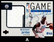 Lot of 25 1997 UD Game Jersey #GJ13S Michael Jordan AUTO REPRINT