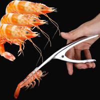 Stainless Steel Prawn Peeler Shrimp Deveiner Peel Device Creative Kitchen Tools