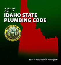 2017 Idaho State Plumbing Code Book  - New