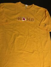 "ironman world championship T-Shirt Men XL Kailua-Kona HAWAII ""Ford"" ""K-Swiss""New"