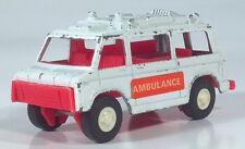 "Vintage Tootsietoy Ambulance Rescue Van 4"" Die Cast Scale Model"
