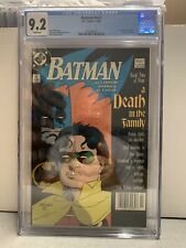 BATMAN 427 CGC 9.2 Newsstand Death In The Family