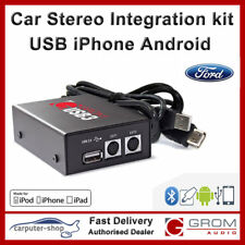 GROM Audio USB3 MP3 iPhone Android car kit for FORD C S-MAX FIESTA FOCUS MONDEO