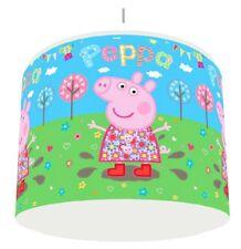 PEPPA PIG blue floral LIGHT LAMPSHADE KIDS ROOM matches duvet set   FREE P&P