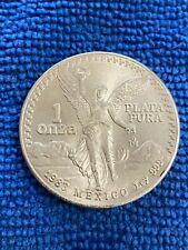 1983 Mexico Silver Libertad 1 ONZA (ozt) .999 Fine Silver Dull White