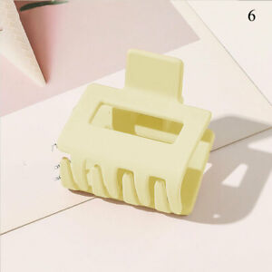 Women Acetate Large Hair Clamp Claw Acrylic Clip Barrette Casual Hair Accessory
