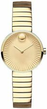 Discounted Brand New Movado Edge Yellow Gold Women's Watch 3680014