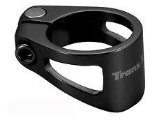 Abrazadera cierre Tranzx Sc60 para Sillin aluminio negro 31.8 mm bicicleta 3961