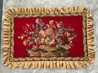 Antique French Tapestry Wall Hanging Home Décor Aubusson Style Romantic Tapestry