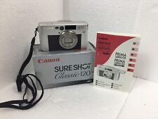 Canon Sure Shot Classic 120 S AF Caption Compact 35mm point and shoot camera