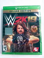WWE 2K19 Deluxe Edition Xbox One - BRAND NEW!
