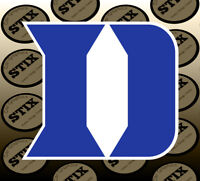 Duke Blue Devils Logo NCAA Die Cut Vinyl Sticker Car Window Bumper Decal