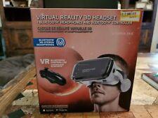 Utopia 360 Virtual Reality 3D Headset + Bluetooth Headphones & Bluetooth...