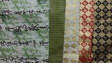 Decorative Paper Lot Asian Oriental Letter Art Craft Scrapbook Collage Decoupage