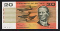 Australia R-401.  (1966) Coombs/Wilson - 20 Dollars.. aU-UNC