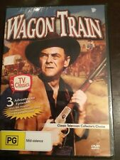 WAGON TRAIN 3 Episodes New Sealed DVD R4