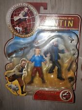 Figurine Tintin et Haddock tirée du film edition Plastoy 2011 NEUF NEW figure