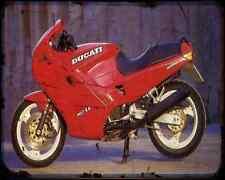 Ducati 907 Ie 1 A4 Metal Sign Motorbike Vintage Aged
