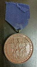 Lincs Lindsey Education Committee Bronze School Attendance Medallion 1905-1906