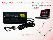 """230W AC Adapter For MSI GT83VR GT73VR Pro TITAN 18.4"""" Gaming Laptop Power Supply"""