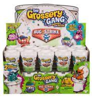 Grossery Gang Bug Strike Toilet Pack New Flushed Grosseries PLUS BONUS FIGURE!!!