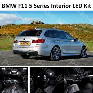 DELUXE BMW F11 5 Series Estate FULL LED Light UPGRADE WHITE XENON Interior KIT