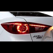 LED Genuine Style Tail Lights Rear Lamps For Mazda 3 Axela M3 Sedan 2014~2016+