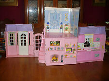 Vintage Meritus Barbie Dollhouse House 1997