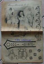 PARIS BRODERIE REVUE N° 7 MAI 1923 PATRON MODE FEMME POINT DE CROIX EN BON ETAT