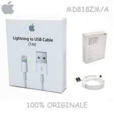 Cavo Originale Usb Per iPhone  6 6S 7 Plus 8 X CON BOX Lightning 8PIN MD818ZM/A