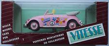 "Vitesse - 1949 VW Käfer Cabrio rosa ""Hippy Style / Flower Power"" 1:43 412"