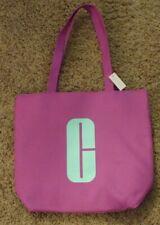 NEW Clinique Purple Plum Makeup Bag Purse Tote Medium Size Reversible