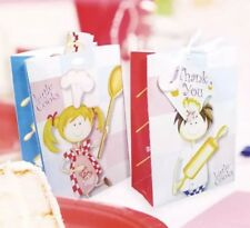 Amscan Little Cooks Birthday Party Loot Bags Party Bags Thank You Tags Pack Of 8