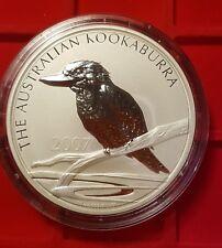 Kookaburra 10 onzas de plata 2007, tirada: 5993!!! Australia