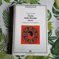 "Fung Yu-lan,""Storia della filosofia cinese"",Mondadori"
