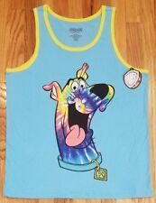 Scooby-Doo Men's Tie Dye Scooby Spring Break Graphic Tank Sz L THESPOT917