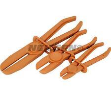 3pc hose clamp plier locking set brake bleeding car hands free pipe block stop