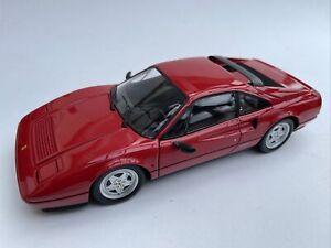 Ferrari 328 GTB diecast model road sports car red 1988 1:18 scale Kyosho 08183R