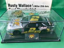 1996 REVELL #2 Rusty Wallace 25th Anniversary Diecast Replica Ford Thunderbird