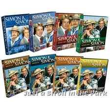 Simon & and Simon Complete TV Series Seasons 1 2 3 4 5 6 7 8 Box / DVD Sets NEW
