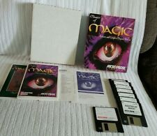 "Master of Magic Explore and Conquer Magical Worlds PC Game 3.5"" COMPLETE Big Box"