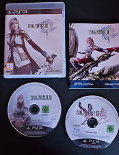 SONY PLAYSTATION 3 PS3 FINAL FANTASY XIII + XIII-2 , PAL ITALIANO COMPLETO