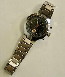 Herren - Armbanduhr DDR Ruhla Chronograf
