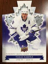 2017 Ud Toronto Maple Leafs Centennial Die Cut #97 Tomas Kaberle